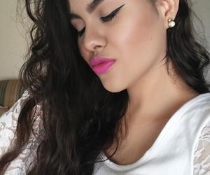 beautiful, cabello, and rizo image