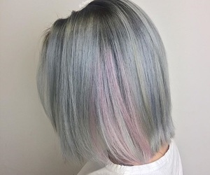 ash, blonde, and blue image