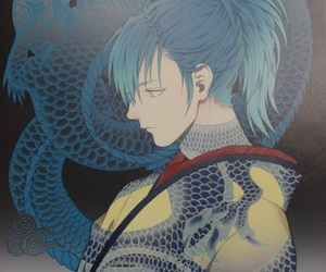 dramatical murder, anime, and aoba image