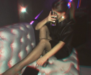 black, club, and drunk image