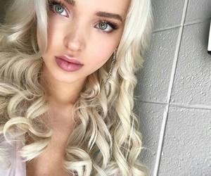 blonde, girl, and dove cameron image