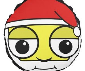 christmas, kawaii, and pillows image