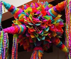 mexico, pinata, and cultura image
