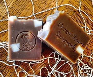 natural soap, natural beauty products, and ocean shores soapworks image
