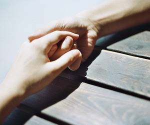 hands, love, and couple image