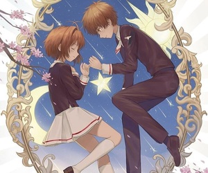 card captor sakura, syaoran, and card captor image