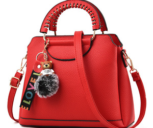 bags, red, and fashion image
