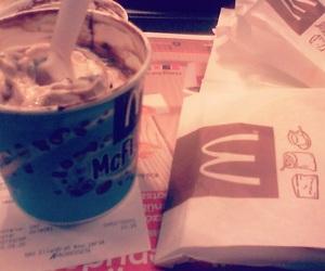 ice cream, McDonalds, and mcflurry image