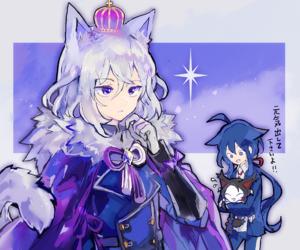 anime, cute, and honebami image