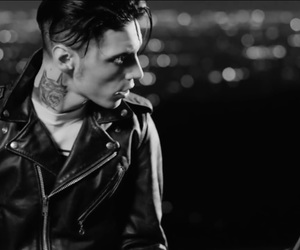 bw, metal, and andy black image
