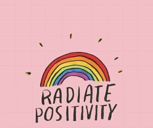 rainbow, wallpaper, and pink image