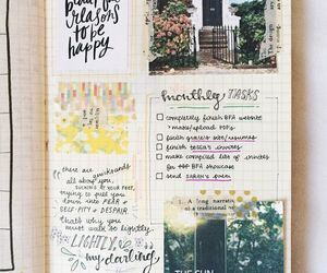 art journal, creative, and quotes image