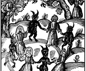witch, evil, and witchcraft image