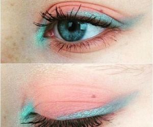 blue, eyeliner, and beauty image