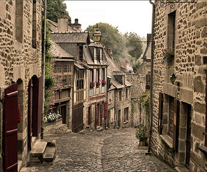 france, street, and europe image