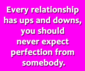 perfection, relationships lessons, and quotes image