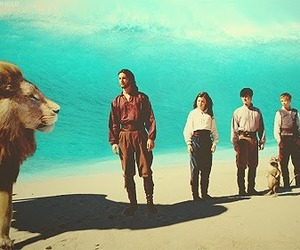 narnia, lion, and caspian image
