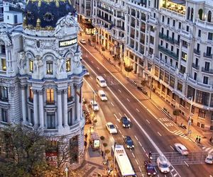 city, madrid, and spain image