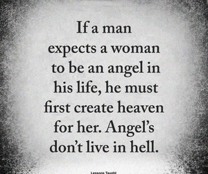angel, love quotes, and love image