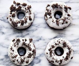 donuts, food, and oreo image