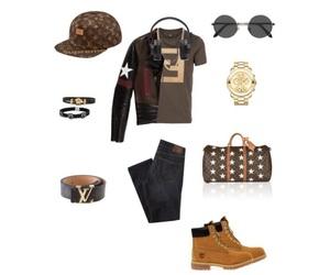 fendi, Louis Vuitton, and supreme new york image