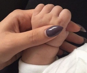 baby, cute, and nails image