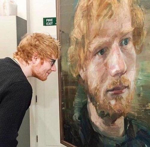ed sheeran, ed, and art image