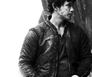 the 100, bellamy blake, and bob morley image