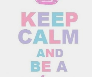 unicorn, keep calm, and kawaii image