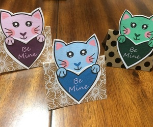 card, papercraft, and valentine image