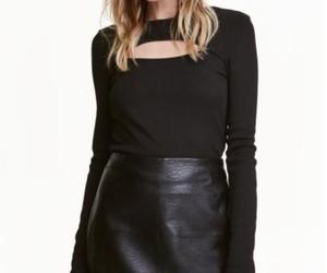 black, blonde, and minigonna image