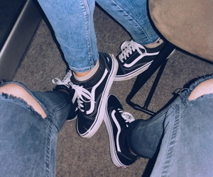 couple, fashion, and jeans image