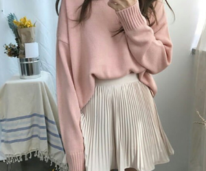 asia, pink, and clothes image