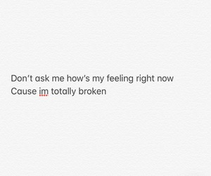 broken heart, girl, and quotes image