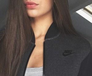 girl, nike, and fashion image