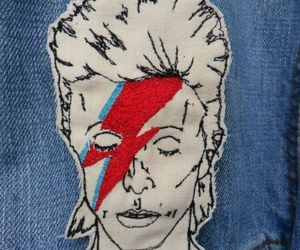 david bowie and jeans image