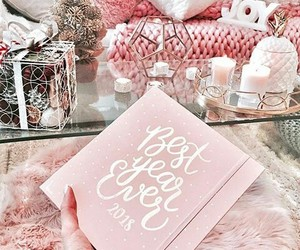 decor, pink, and style image