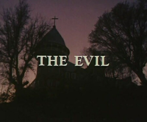 dark, evil, and theme image