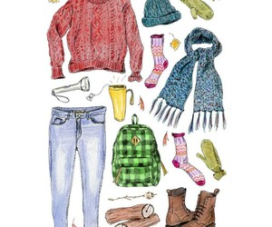 dibujos, illustration, and jeans image