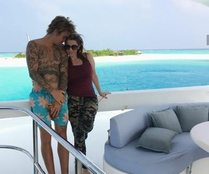 mother, justin bieber, and love image