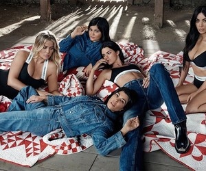 Calvin Klein, kylie jenner, and kendall jenner image
