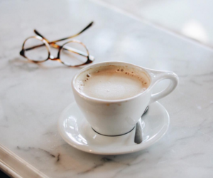 coffee and glasses image