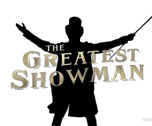 black, gold, and showman image