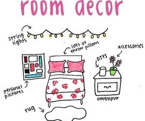 room, diy, and decor image