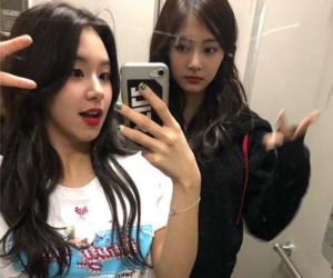 twice, chaeyoung, and tzuyu image