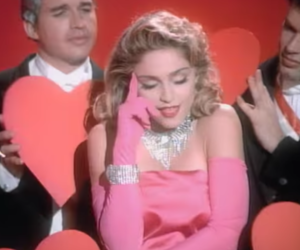 madonna and material girl image