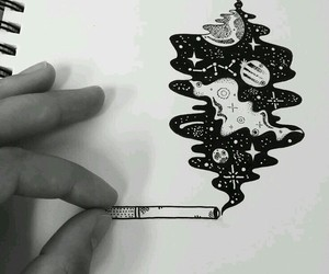 awesome, drawing, and universe image