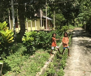 children, nature, and indonesia image