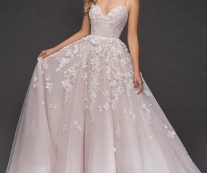 fashion, wedding, and wedding dress image