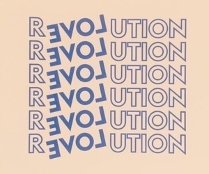 love, revolution, and theme image
